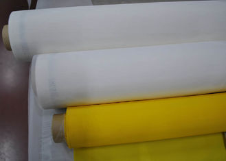 Cina High Mesh Count Polyester Silk Screen Printing Mesh Sampel Gratis 120T-34PW Warna Kuning pemasok
