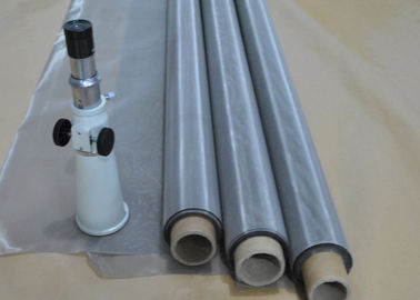 Cina Solar Battery Stainless Steel Screen Printing Mesh 0.018-0.02mm Diameter Kawat pemasok