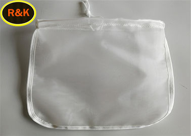 Reusable Dan Durable Rosin Press Nut Milk Nylon Mesh Filter Bag Dengan Serut